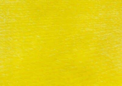 Oceania Gialla: il dipinto mostra una grande distesa di mare di colore giallo intenso.