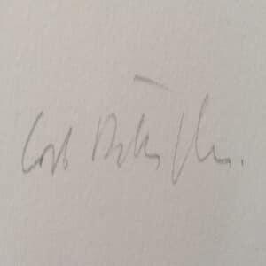 La firma di Carlo Battaglia.