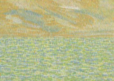 Ovale (Pioggia), anteprima dell'opera.